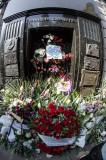 La tombe d'Evita
