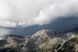 Ligne de grain en montagne