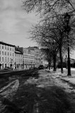 Rue de la Commune in the Old Montreal