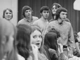 SCS Auditorium Jane Keegan Don Dobie, Don McInally, Bill Sparks, Roger Lloyd