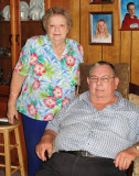 Junior and Dixie Atkins on their Tobacco farm - 2007