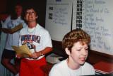 Susan Drayson and Terri Casselton..the piano player..
