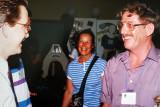 Doug Kneale,  Joy Hurst and John Wallace