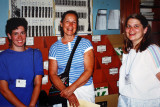 Kay Burns, Joy Hurst & Sue Dickout