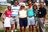 Cindy Gielarowski , Eric Bristow, Deb Gielarowski  and Sandra Woolley and Doug Kneale (r)