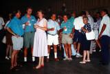 Dan Koluk (white shorts), Wayne Campbell, Larry Dickey