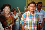 Rona Moffat, Randy Clark & John Knott  -  1987