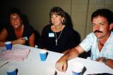 Shari Patterson, Elly & Rob Clark  -  1987