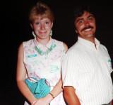 Jill & Dave  Churchill  -  1987