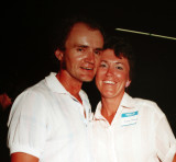John & Audrey Roxborough  -  1987