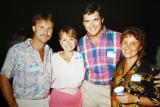 Rick Mullin, Jill Walker Foster, Bob Nightingale and Nancy Lotus Bruder  -  1987