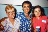 Donnie Maxwell,   Randy Gilbert  & Janice (Carpenter) Hine  -  1987