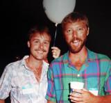 Rick & Brad Mullin  -  1987