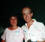 Julie Costigan (Jones)  & Bruce Kendrick  -  1987