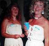 Vicki & Debbie Coates  -  1987