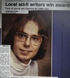 Jim Gardner wins Sci Fi Award