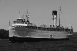SS Keewatin sails past Penetanguishene to Port McNicoll, June 23, 2012