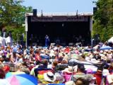 Elvis live on Hurontario St. in  Collingwood - 2012
