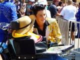 Elvis with a Fan - 2012