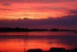 Sunset over Collingwood Harbour - Aug 2, 2012