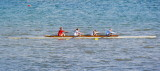 Rowers on Collingwood Harbour - Aug, 2012