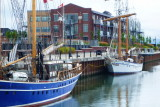 Tall Ships in the Collingwood Shipyards - Aug 2012