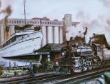 Vintage image of Keewatin in Port McNicoll