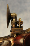 European Style Tang Sight Detail - adjustable with tool similar to clock winding key