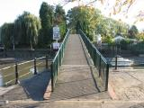 Footbridge onto Eel Pie Island.