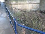 New footpath, old railings.