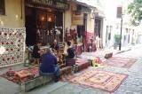 Tbilisi, Shavateli street - carpet shop