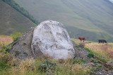Georgian bard stone at Akhaltsikhe