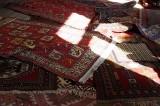 Sighnagi - at carpet shop
