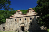 Way to Telavi - the only double dome church in Georgia