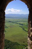 Alazani valley from Nekresi Monastery