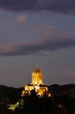 Tbilisi at night - Sameba cathedral