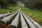 Tarraleah Hydro Power Station intake pipes