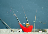 4 Rods fishing...