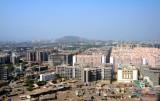 Mumbai modern and slums