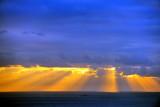 Sunset over Bugio Lighthouse