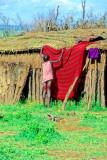 Masai young girl