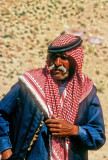 Bedouin Elder with typical, manly moustaches...