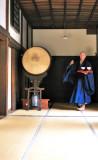 Zen Priest in Zen Temple