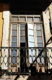 Abandoned Old Palace Window,