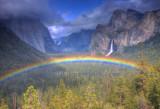 Yosemite Valley Tunnel View Rainbow