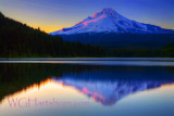Mount Hood Afterglow