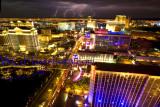 Vegas Strip Lightning