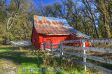 Triangle Red Barn