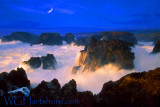 Mendocino Moonlight Surf