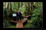 2011 - Vancouver Island - Pacific National Rim Park - Rainforest Trail - Ken & John